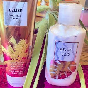Bath & Body Works Belize Set